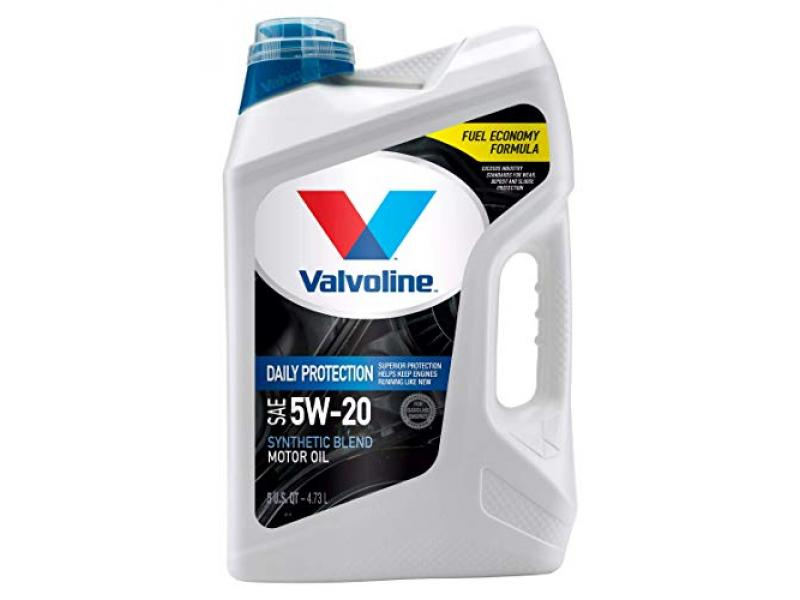 Valvoline Daily Protection SAE 5W-20 Synthetic Blend Motor Oil 5 QT