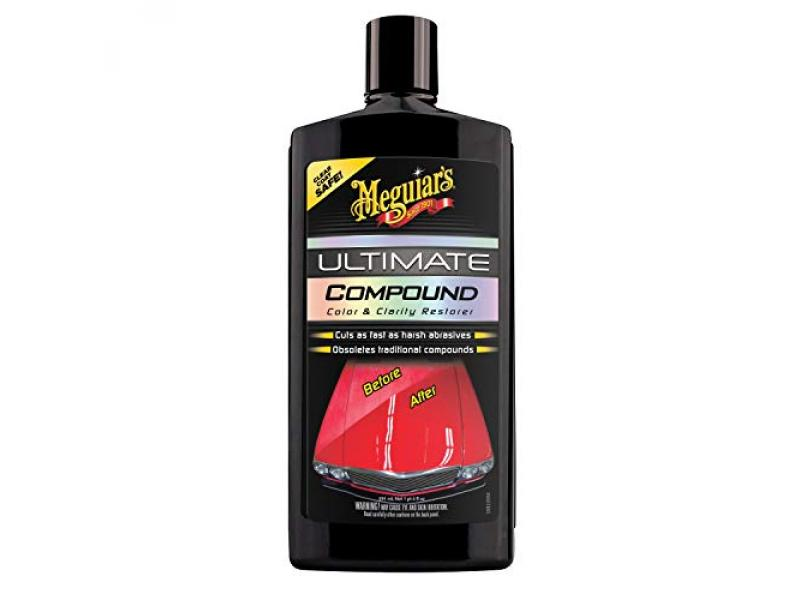 Meguiars G17220 Ultimate Compound, Color & Clarity Restorer, Scratch & Swirl Remover