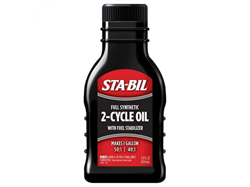 STA-BIL Full Synthetic 2-Cycle Oil - With Fuel Stabilizer