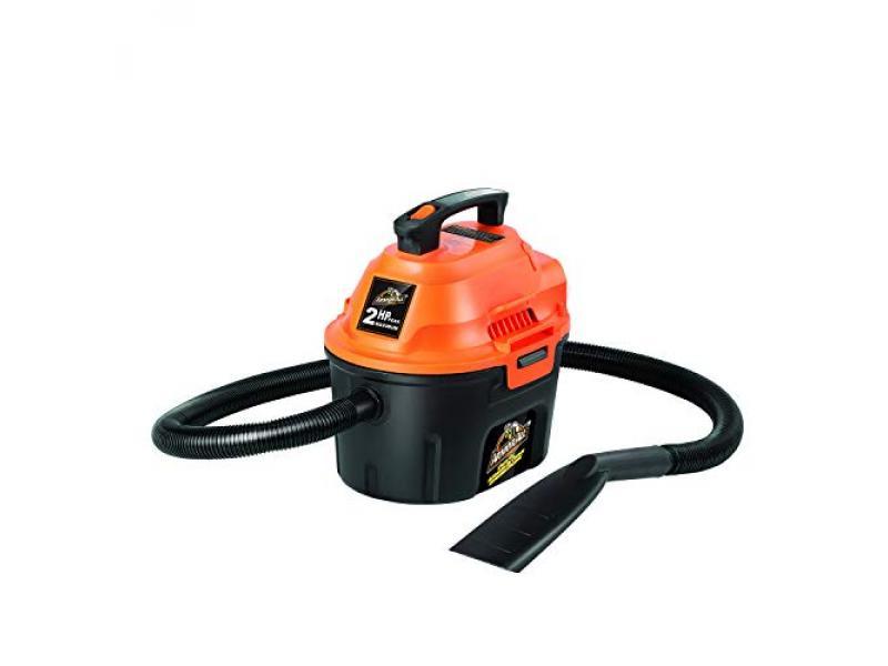 2.5 Gallon 2 Peak HP Wet/Dry Utility Shop Vacuum