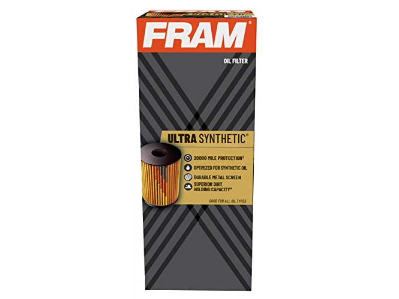 FRAM Ultra Synthetic 20,000 Mile Protection Oil Filter, XG11665