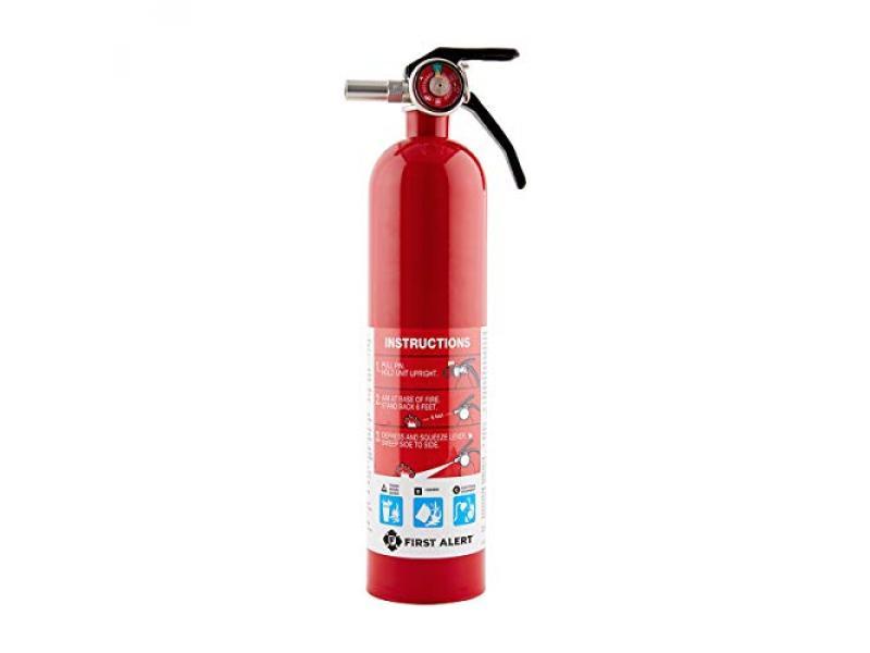 First Alert FE1A10GR195 Standard Home Fire Extinguisher