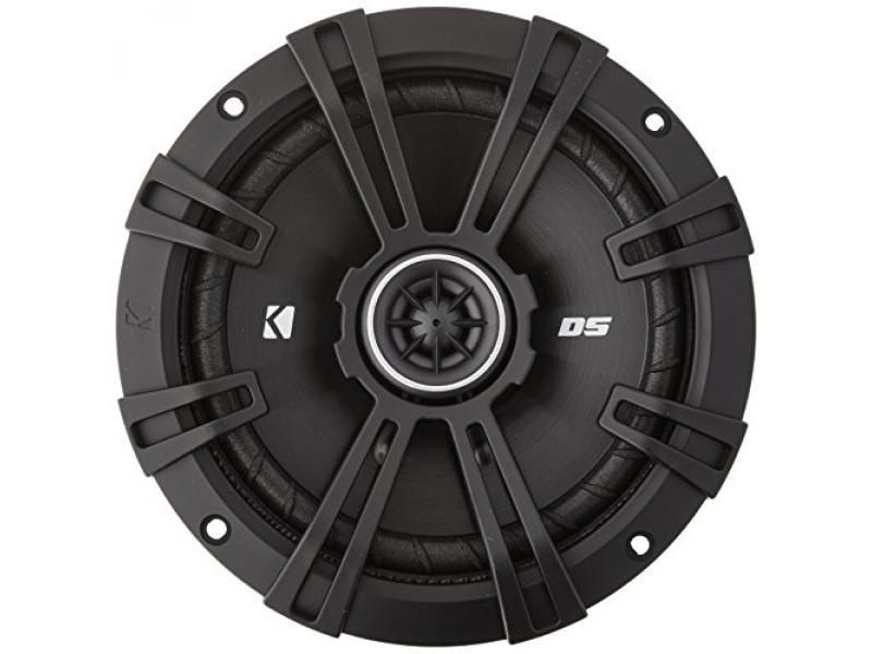 Kicker DSC650 DS Series 6.5 4-Ohm Coaxial Speakers