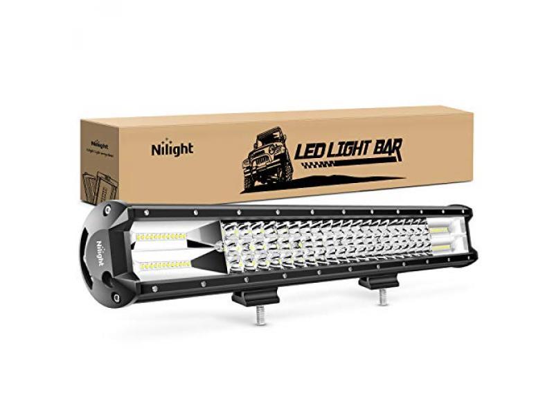 Nilight - 18005C-A 26Inch Triple Row Lights 297W