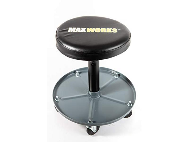 MaxWorks 80771 Pneumatic Roller Seat/Creeper with Adjustable Height