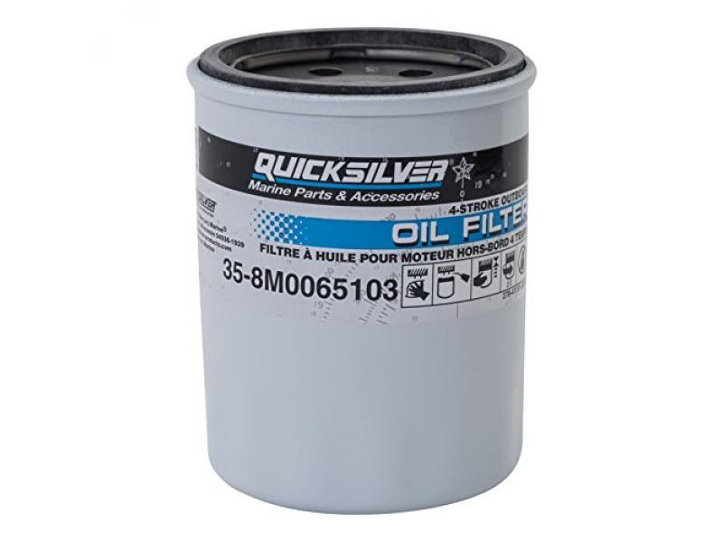Quicksilver 8M0065103 Oil Filter - Mercury and Mariner