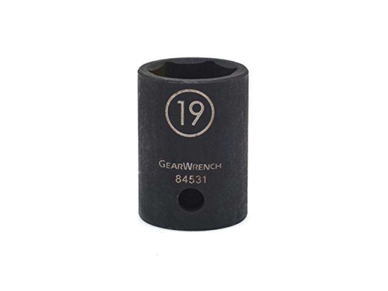 GEARWRENCH 1/2 Drive Standard Impact Metric Socket