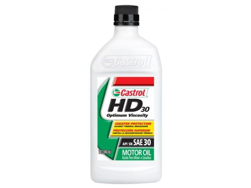 Castrol 06142-6PK HD-30 Motor Oil - 1 Quart