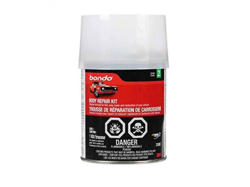 Bondo Body Repair Kit, Original Formula for Fast