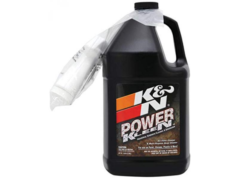 K&N Air Filter Cleaner and Degreaser: Power Kleen