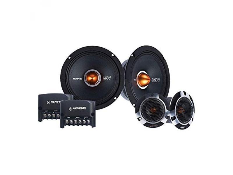 Memphis Audio SRXP62C 6.5 Inch 250 Watt Pro Car Audio Component Set