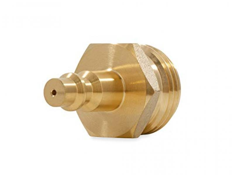 Camco Blow Out Plug With Brass Quick Connect-Aids