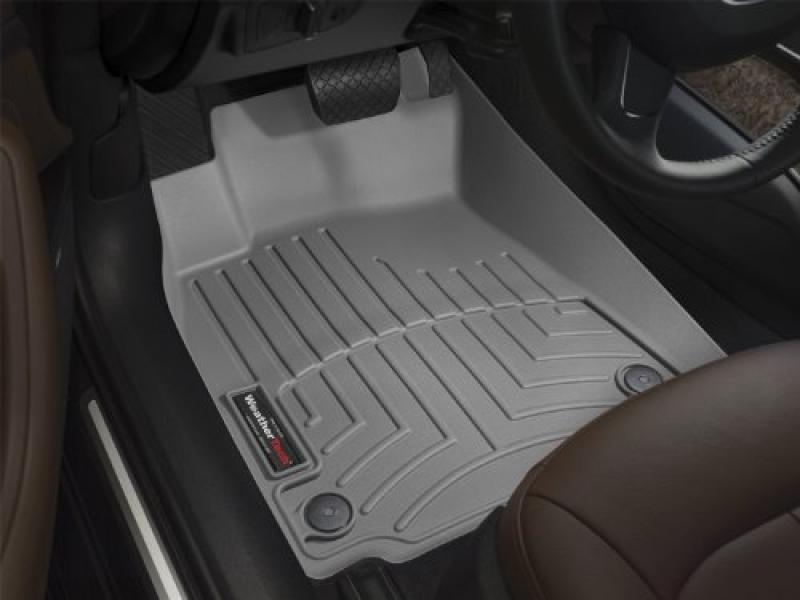 WeatherTech Custom Fit Front FloorLiner (Grey)