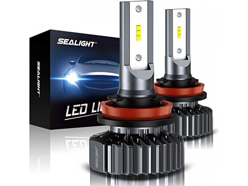 SEALIGHT Scoparc S1 H11/H8/H9 LED Headlight Bulbs