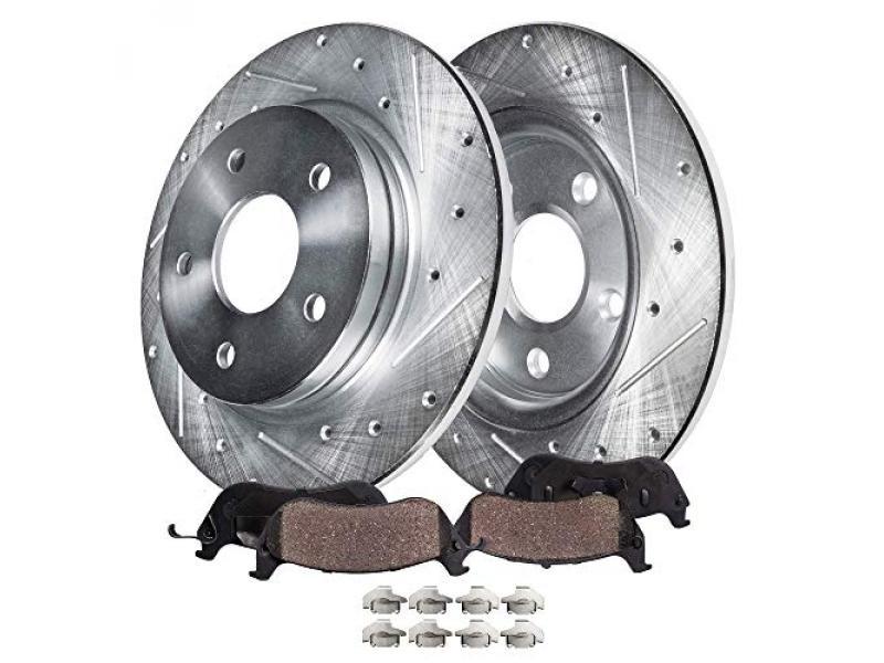 Detroit Axle - REAR Brake Kit Replacement