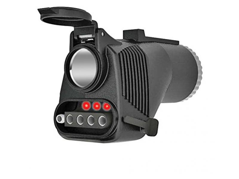 Reese Towpower 78119 Adapter with Built-in 12V Power Outlet