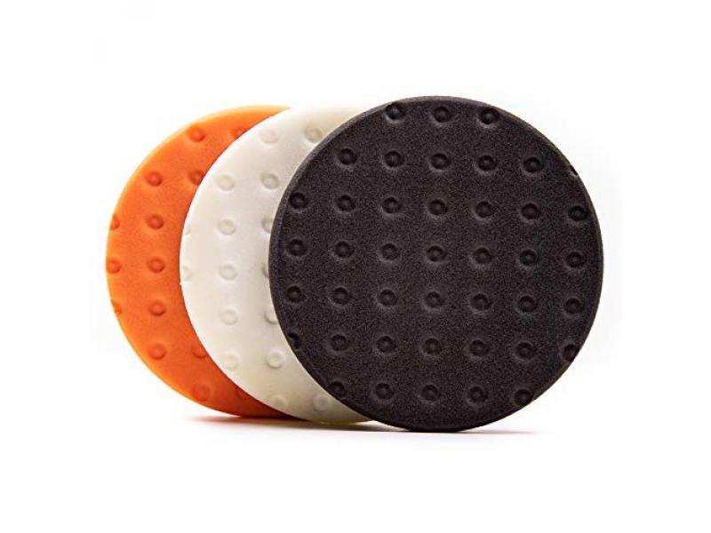 Lake Country CCS Orange, White, and Black Polishing Kit