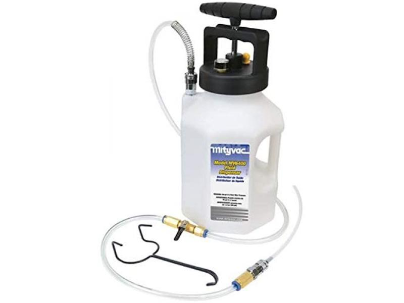 Mityvac MV6400 1 Gallon Manual Pump Fluid Dispensing System with 5 Hose