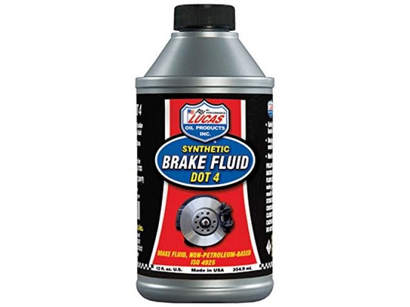 LUCAS OIL 10827 Multi 12 ounce Brake Fluid
