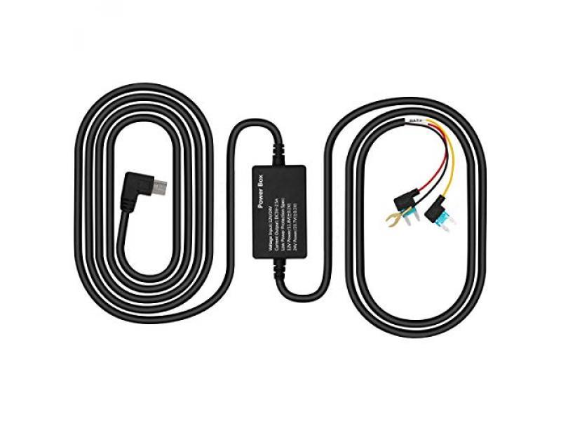 PORMIDO Hardwire Kit for Mirror Dash Cam PR996