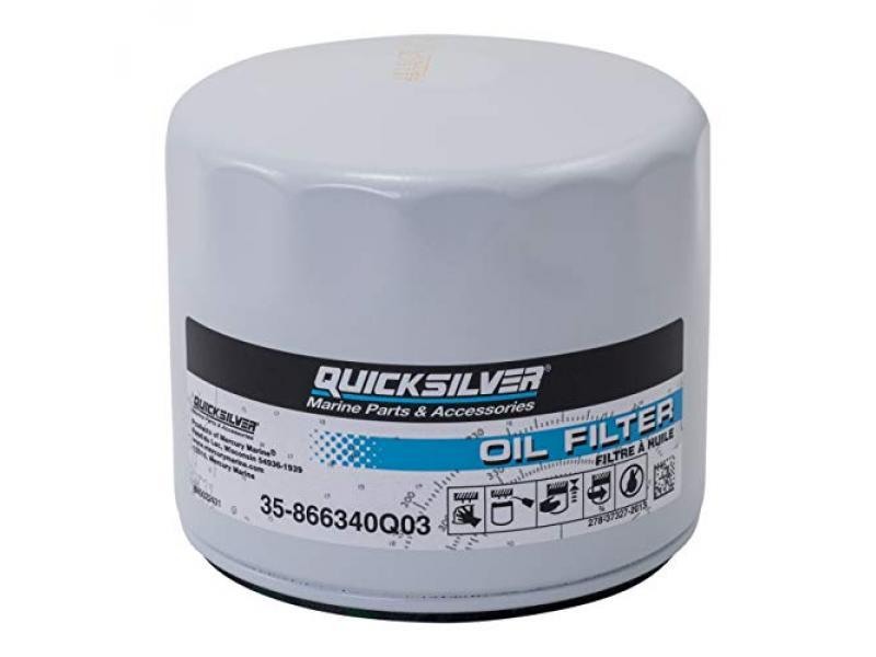 Quicksilver 866340Q03 Oil Filter for MerCruiser Stern drive and Inboard