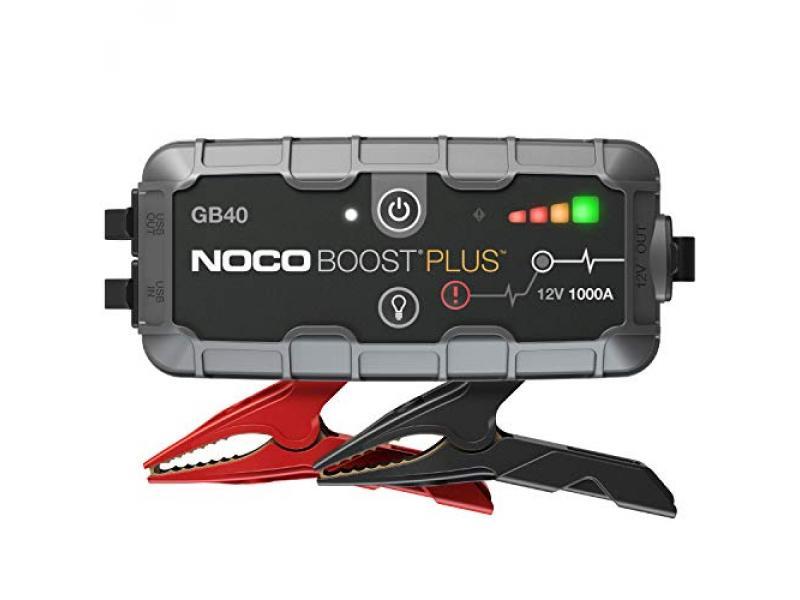 NOCO Boost Plus GB40 1000 Amp 12-Volt UltraSafe Lithium Jump Starter Box