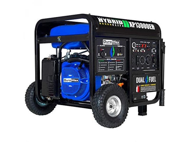 DuroMax XP13000EH Dual Fuel Portable Generator
