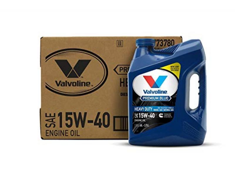 Valvoline Premium Blue SAE 15W-40 Diesel Engine Oil 1 GA