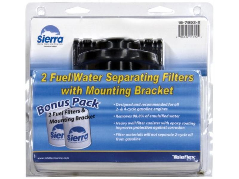 Sierra 18-7982-2 10 Micron Marine Fuel Filter Kit for Fuel Injected Engine