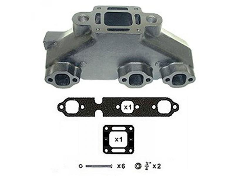RPS Cast Iron Exhaust Manifold for Mercruiser 4.3 V6 Engines