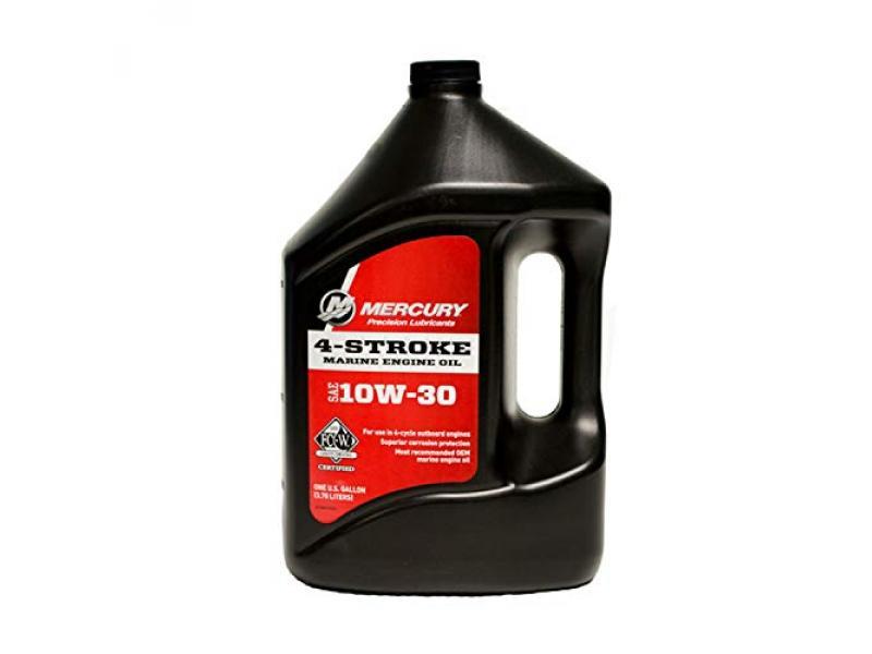 OEM Mercury 4-Stroke FCW 10W-30 Outboard Motor Oil One Gallon