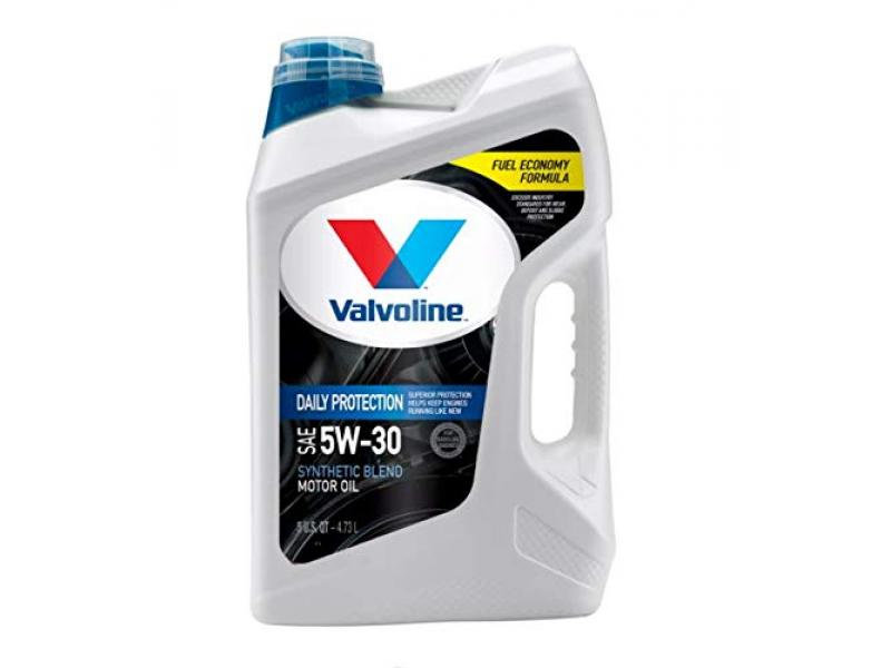 Valvoline Daily Protection SAE 10W-30 Motor Oil 5 QT