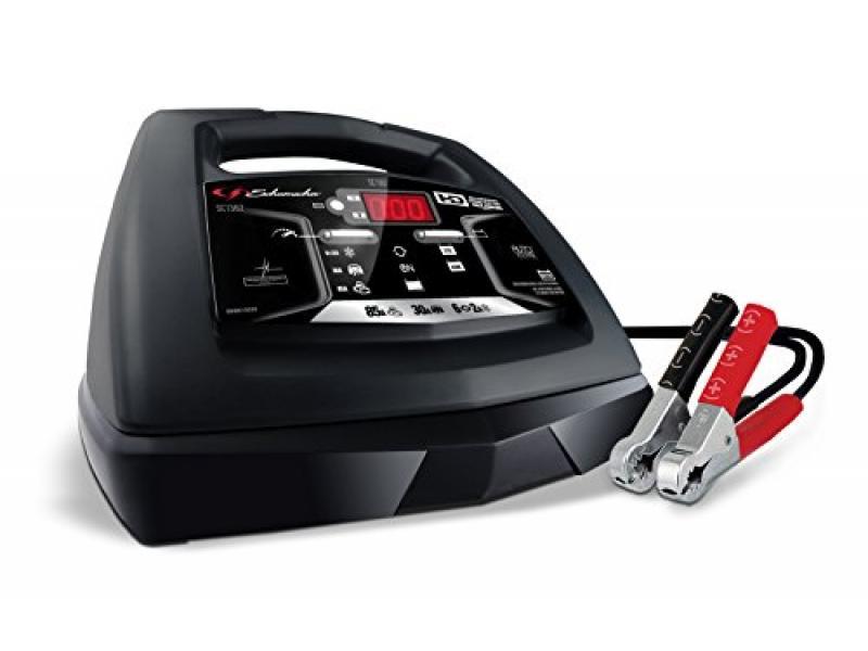 Schumacher SC1362 85 Amp 30 Amp 6V/12V Fully Automatic Smart Battery Charger with Engine Starter