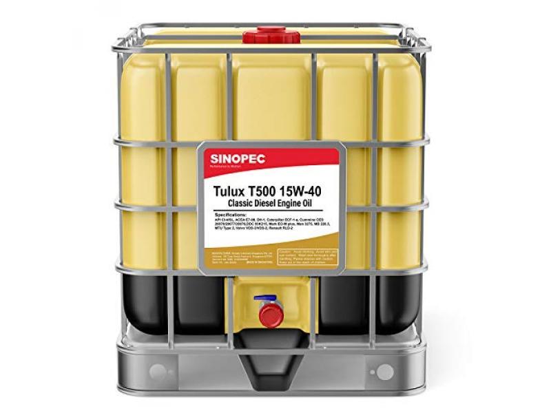 Sinopec Tulux T500 15W40 Classic Diesel Engine Oil