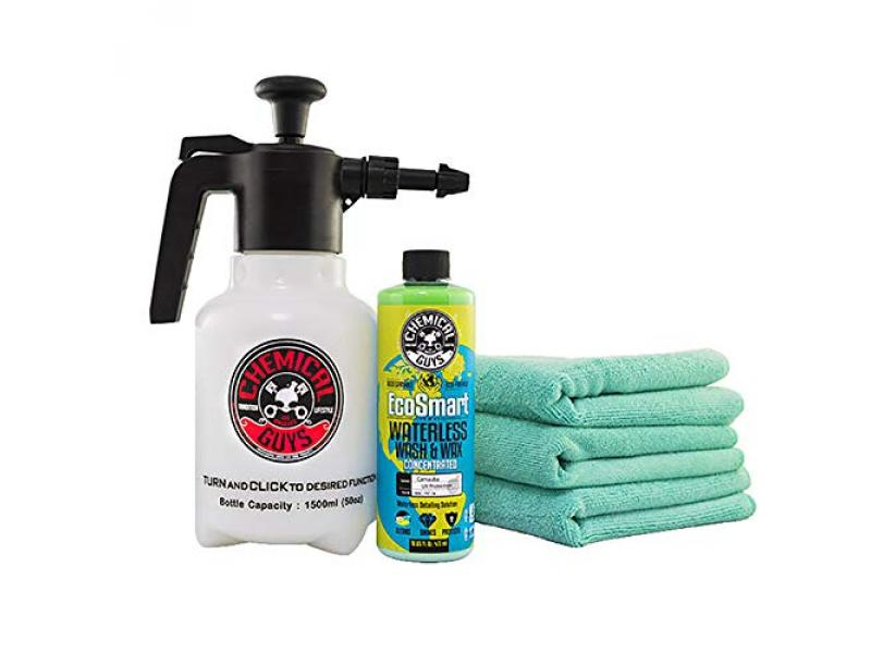 Buster Waterless Car Wash & Wax Kit