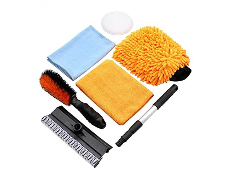 SCRUBIT Car Cleaning Kit 6 PC