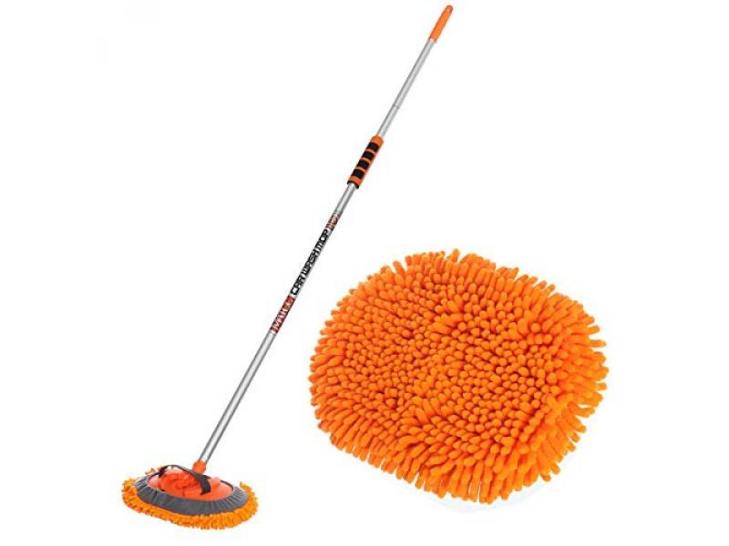 MATCC 62 Mop Mitt Brush Kits with Long Handle