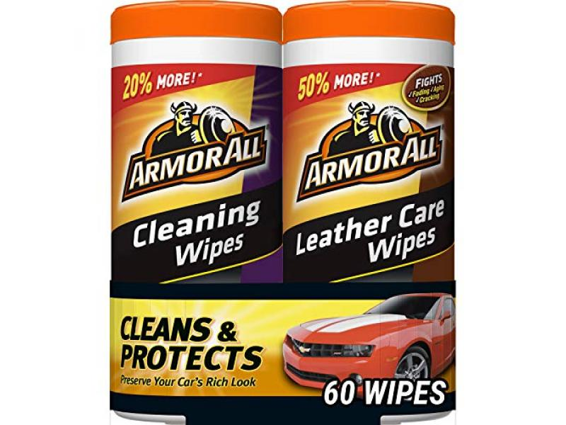 Armor All Cleaning and Leather Wipes - Interior Cleaner