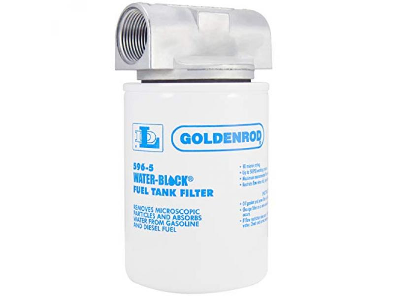 GOLDENROD (596) Canister Water-Block Fuel Tank Filter
