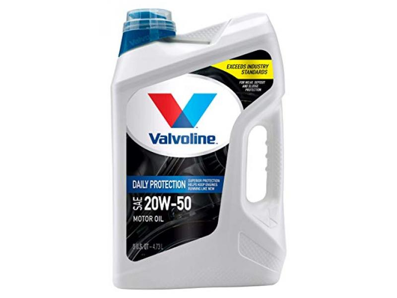 Valvoline Daily Protection SAE 20W-50 Conventional Motor Oil 5 QT