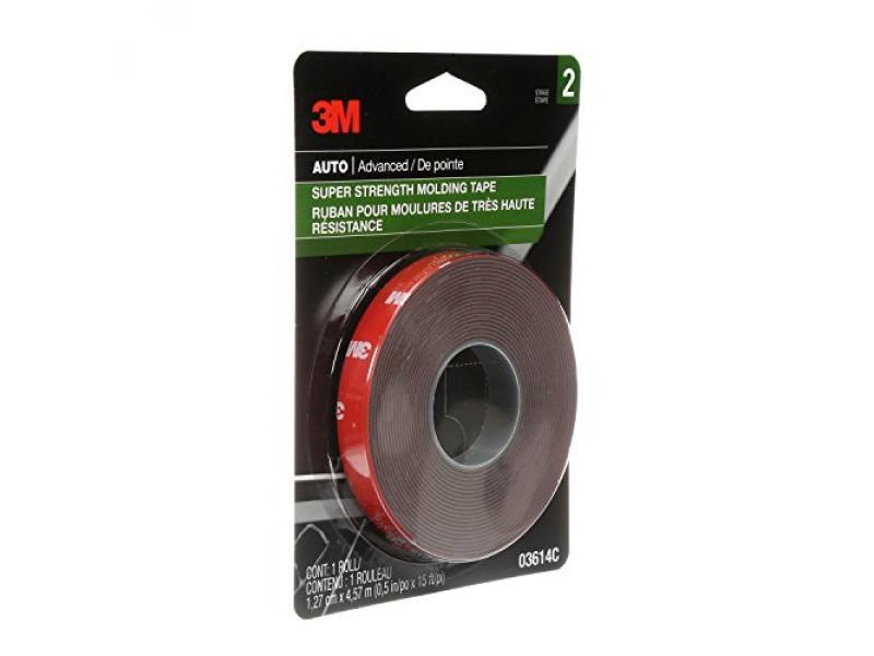3M 03614 Scotch-Mount 1/2 Molding Tape