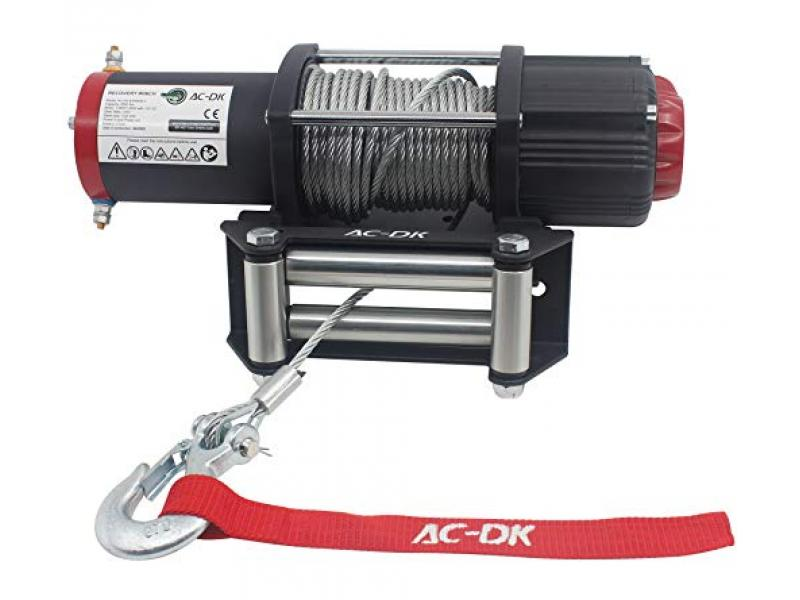 AC-DK 5500lb. Electric Steel Cable ATV Winch Kits