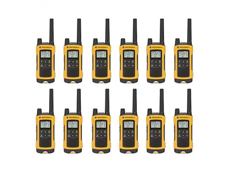 (12-Pack) Talkabout T402 Rechargeable Two-Way Radios