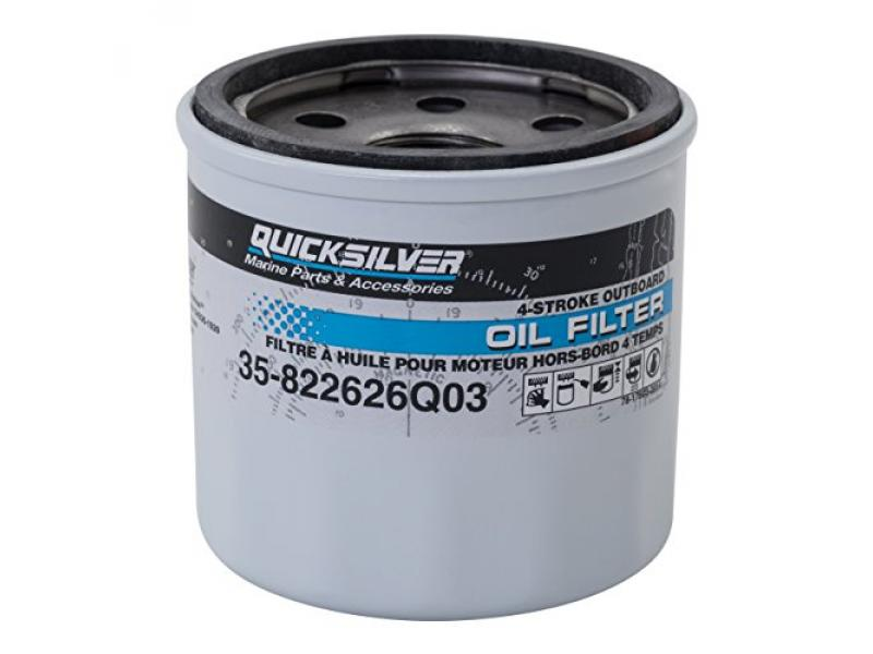 Quicksilver Oil Filter for Mercury and Mariner Outboards - 822626Q03