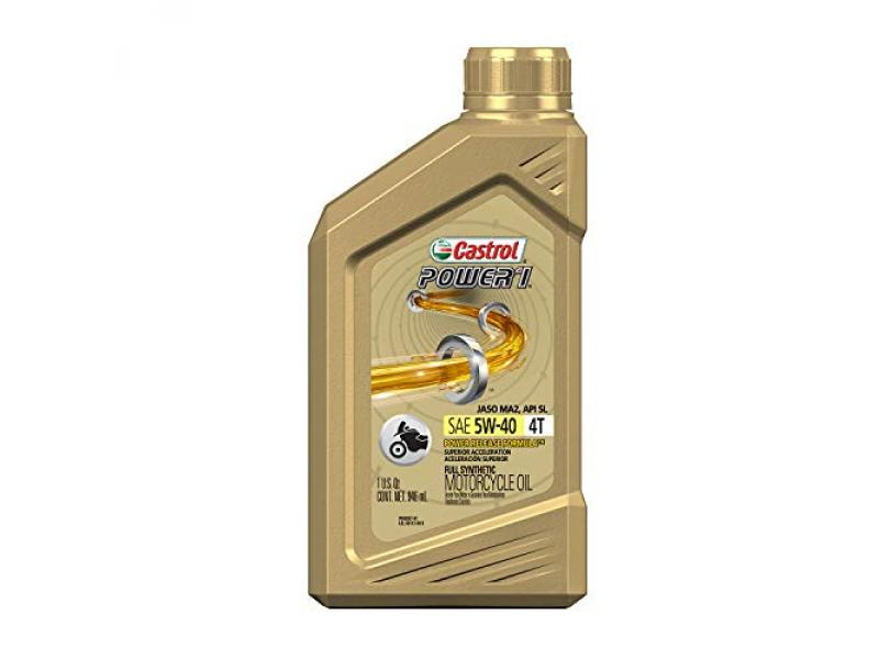 Castrol 06113 Power RS 5W-40 4-Stroke Motorcycle Oil - 1 Quart