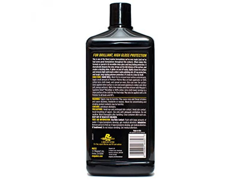 MEGUIARS M6332 Flagship Premium Marine Wax, 32. Fluid_Ounces