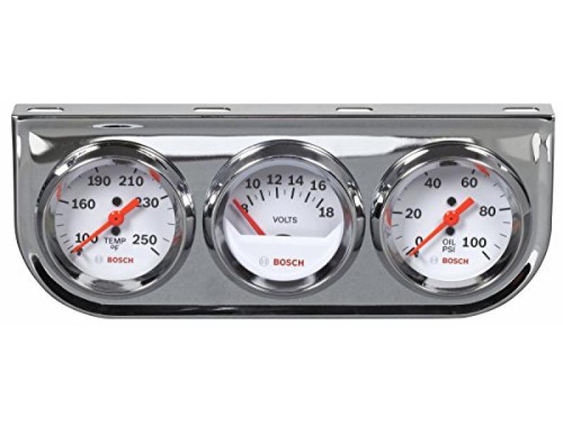 Actron SP0F000046 Bosch Style Line 2 Triple Gauge Kit
