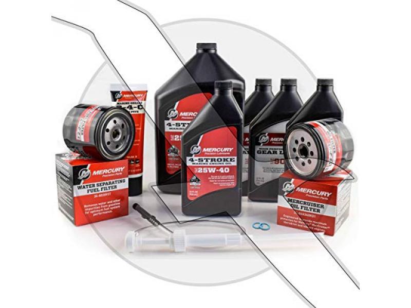 Mercruiser Engine Oil Change and Sterndrive Gear Lube Maintenance Kit