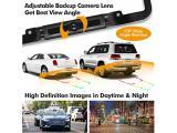 PORMIDO Solar Wireless Backup Camera License Plate with Monitor Kit Photo 4