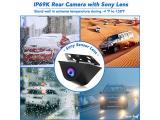 PORMIDO Mirror Dash Cam Backup Camera Photo 4